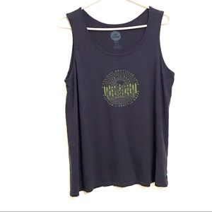 NWOT Life is good breezy sleeveless top size L